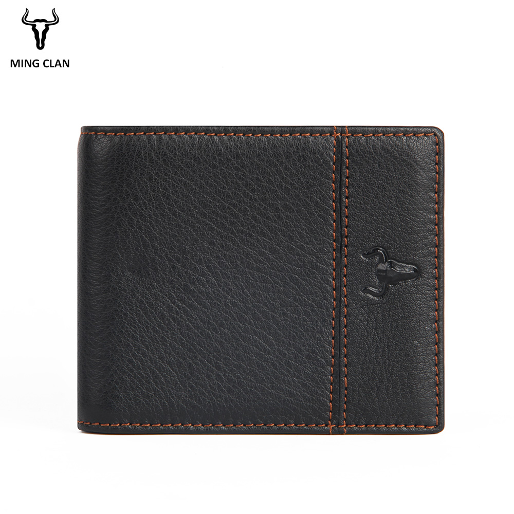 цены Mingclan Slim Wallet Men Wallets Small Money Purse Wallet Credit Card Holder Design Dollar Price Male Coin Bag Zipper Bag Pocket