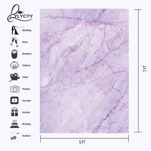 Image 3 - 5x7ft Violet Marble Texture Pattern Backdrop for Photo Shoot Background Photography Studio Props
