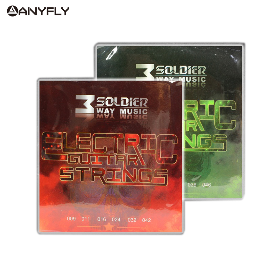 Electric Guitar Strings Set For 6-string Electric Guitar 009-042,010-046 Super Light Medium Plated Nickel Alloy Wound