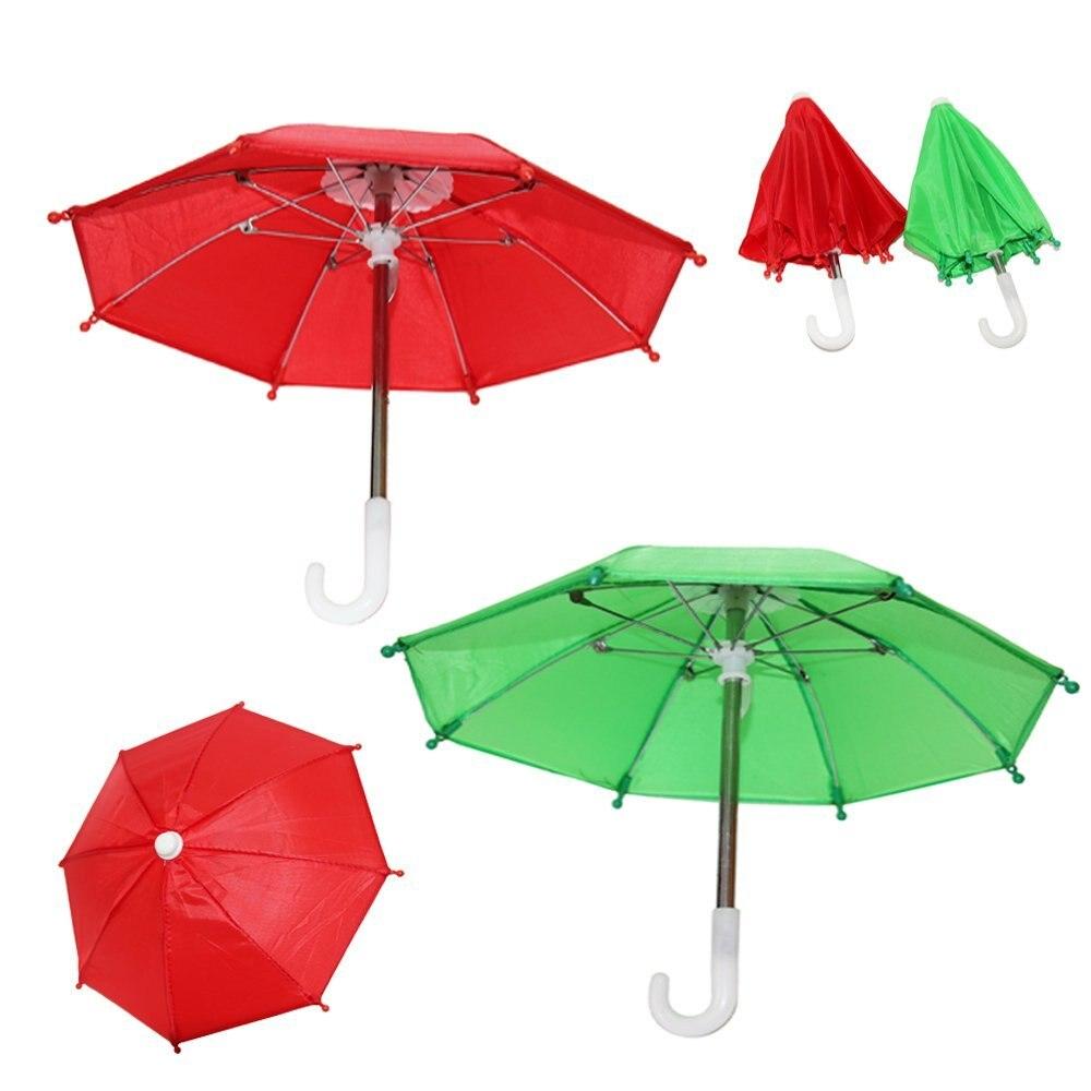 Linda Muñeca Juguetes hechos a mano Mini Paraguas para 18 pulgadas - Muñecas y accesorios - foto 4