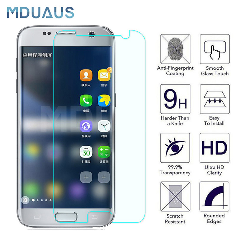 Tempered Protective Glass On The For Samsung Galaxy S7 S6 S5 S4 S3 Mini Samsung Note 5 4 3 Screen Protector Glass Film Case