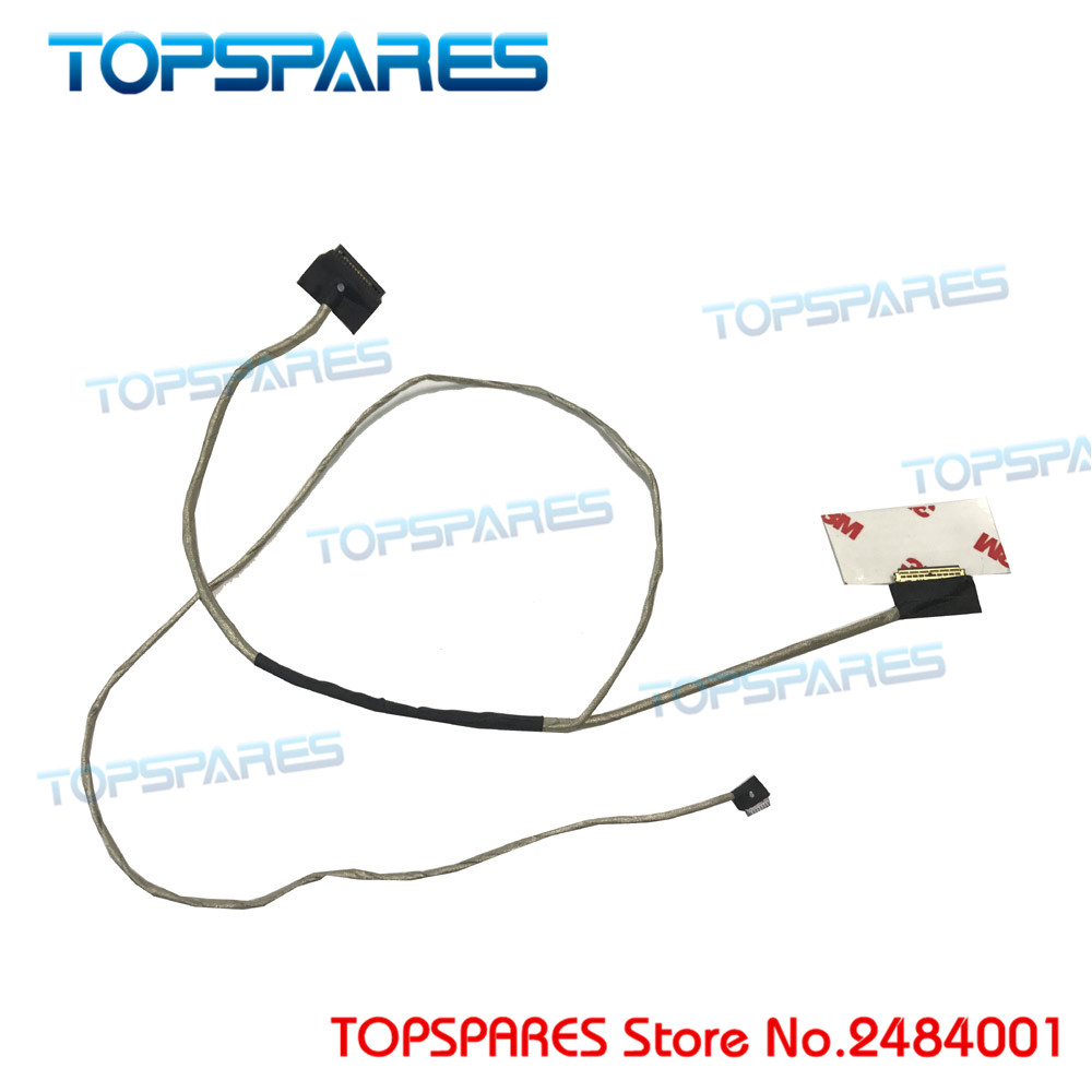 "New Laptop For Lenovo Ideapad 15.6"" AINP2 100 14 100 15 100 15IBY  DC020026T00 AIVP2 Screen Cable LCD Wire Lvds Line-in Computer Cables &  Connectors from ..."