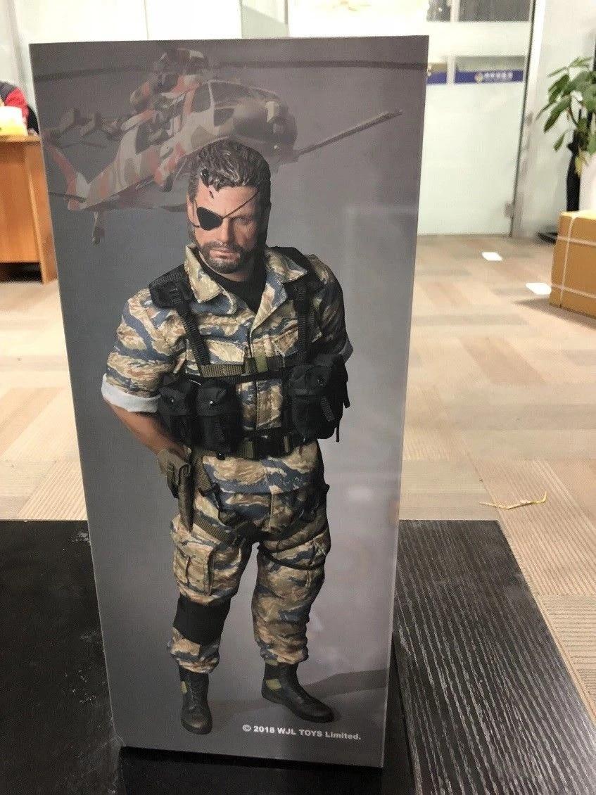 WJL TOYS Poulet Casque Disguiser Snake Metal Gear 1//6 Action Figure Jouet DAM DID