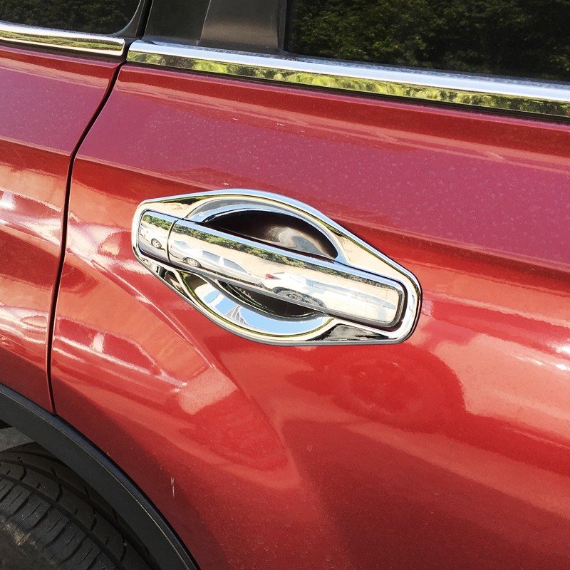 For Nissan X-Trail T31 car accessories door handle bowl stick Cover Trim ABS chrome X trail 2008-2013 Car-styling