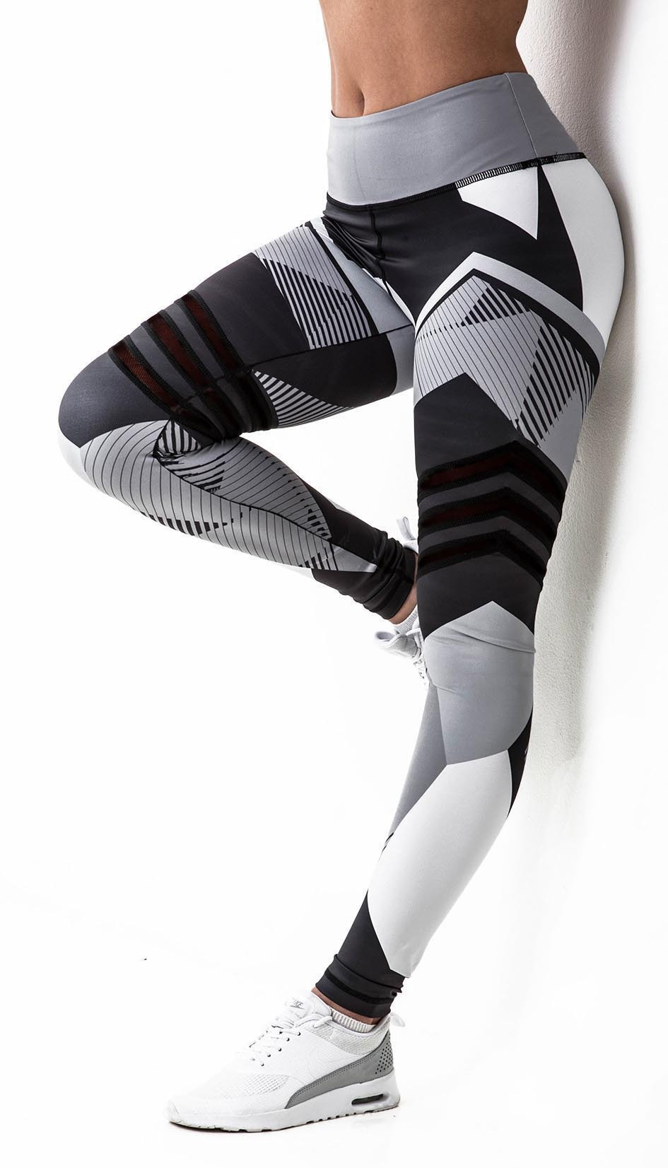 Fitness Leggings for Women Gothic Push Up Leggings High Elastic Workout Leggings Clothing Sexy Sporting 3d Leggings Plus Size