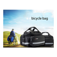 Sports Cycling Bicycle Bag Mountain Outdoor Black Large Capacity 35L Waterproof Easy To Remove Multifunction Bag