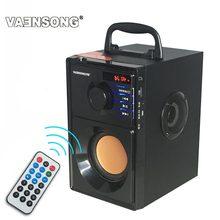 Radio disque haut-parleur bois