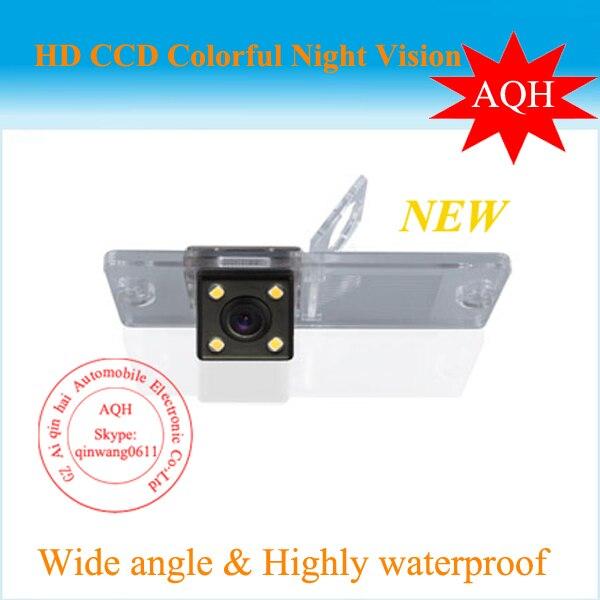 imágenes para Precio para la fábrica Pajero cámara de visión trasera cámara con 4 LED HD de la cámara CCD Mitsubishi Pajero 2009-2012