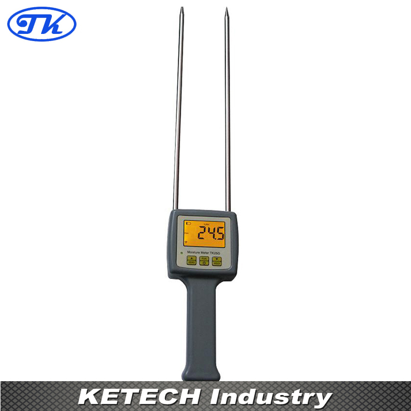 TK25G Grain Moisture Tester 25 kinds Grain for Barley Corn Rough Rice Oats Rapeseed Wheat Sorghum Soybeans multifunctional grain moisture meter ms g test for barley corn hay oats rapeseed rough rice sorghum soybeans and wheat