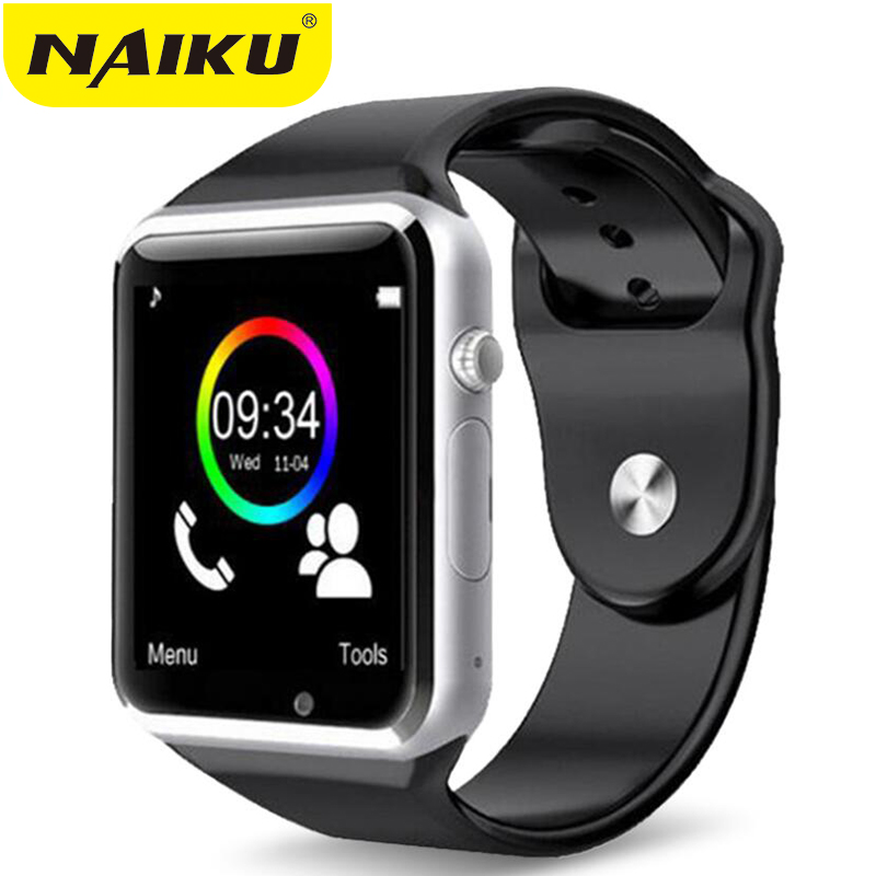 NAIKU WristWatch Bluetooth Smart Watch Sport Pedometer With SIM Camera Smartwatch For Android Smartphone PK GT08 U8 DZ09