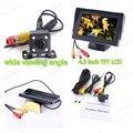 4.3 polegada rearviwe tela TFT-LCD monitor + 4 LED backlight de exibição de estacionamento reverso da câmera para estacionamento