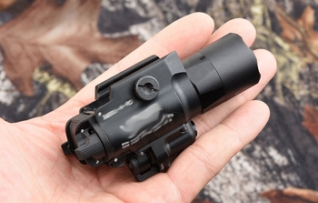 Tactical light Weapon Light with red laser for picatinny glock pistol rail mount SF X300 Ultra M7155