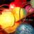 2 m Colorido Childre Infantil Habitación Del Bebé Llevó el Juguete de Iluminación Luz de La Tienda 20 de Bola Wedding Party Festival Decoración Iluminación de La Gota gratis