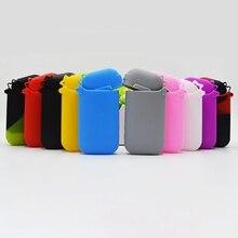 Защитный чехол, портативные аксессуары для электронных сигарет, Цветной силиконовый чехол, универсальный силиконовый чехол для IQOS