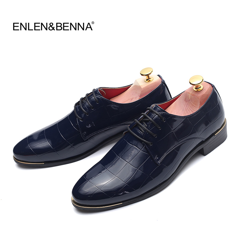 2017 Fashion Italian Designer Formal Mens Dress Shoes