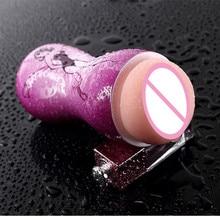 Sex Toys Men's Aircraft Cup Male Masturbation Sex Male Vagina Real Realistic Pocket Pussy Penis Pump Blowjob Vibrator Erotic Toy