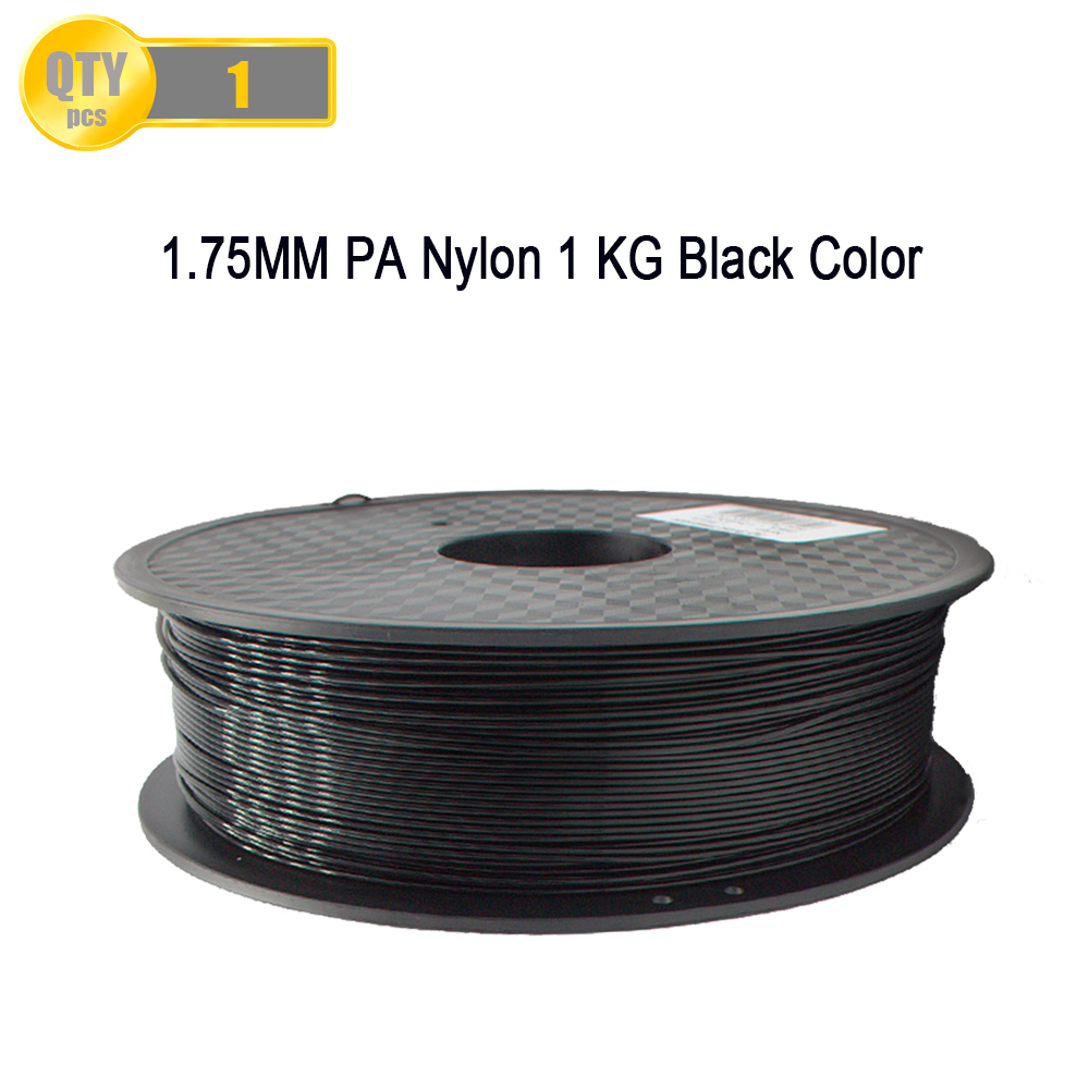 PA Nylon 3D Printer Filament 1KG/Roll 1.75MM 3D Printer Filament For MakerBot/RepRap/UP/Mendel 3D Printer &3D Pen