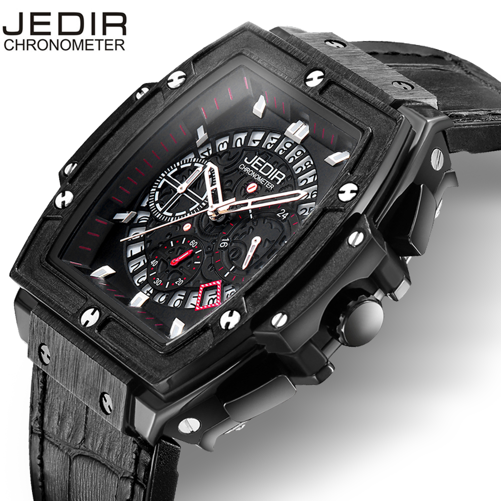 Watch Men Limited Edition JEDIR 2018 fashion Quartz men Watch Brand Men Military Silicone Men Sports Watch Relogio Masculino купить