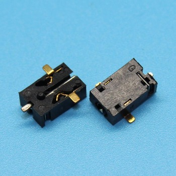 YuXi Tablet Widely Using 3pin SMT Power DC Jack Connector Socket, Hole dia 2.5mm Pin 0.7mm Size image