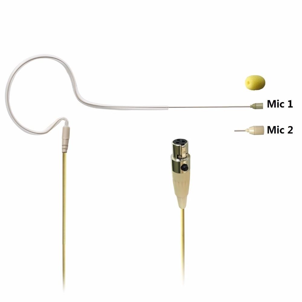 Freeboss Skin Color 3 Pin Mini XLR Condenser Microphone