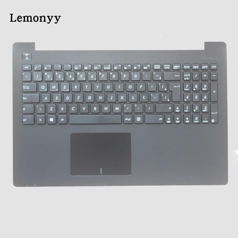 New Brazil Laptop Keyboard for ASUS X553 X553M X553MA K553M K553MA F553M F553MA BR Keyboard Black Shell Palmrest Upper laptop keyboard for lg 15n540 sn5840 sg 59030 40a sn5840 sg 59030 xra black without frame korea kr br brazil