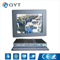 Professioanl Manufacturer 12 Fanless Industrial Pc Price From China Supplier With Intel J1900 2 0GHz Cpu