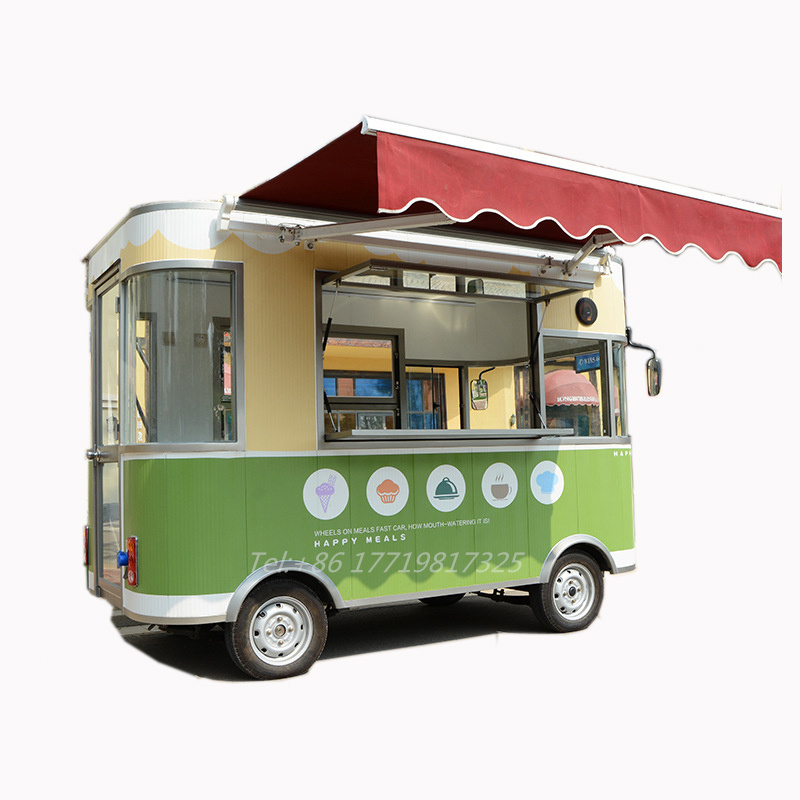Mobile Food Truck Barbecue Vintage Food Truck Ice Cream Trucks Food Cart