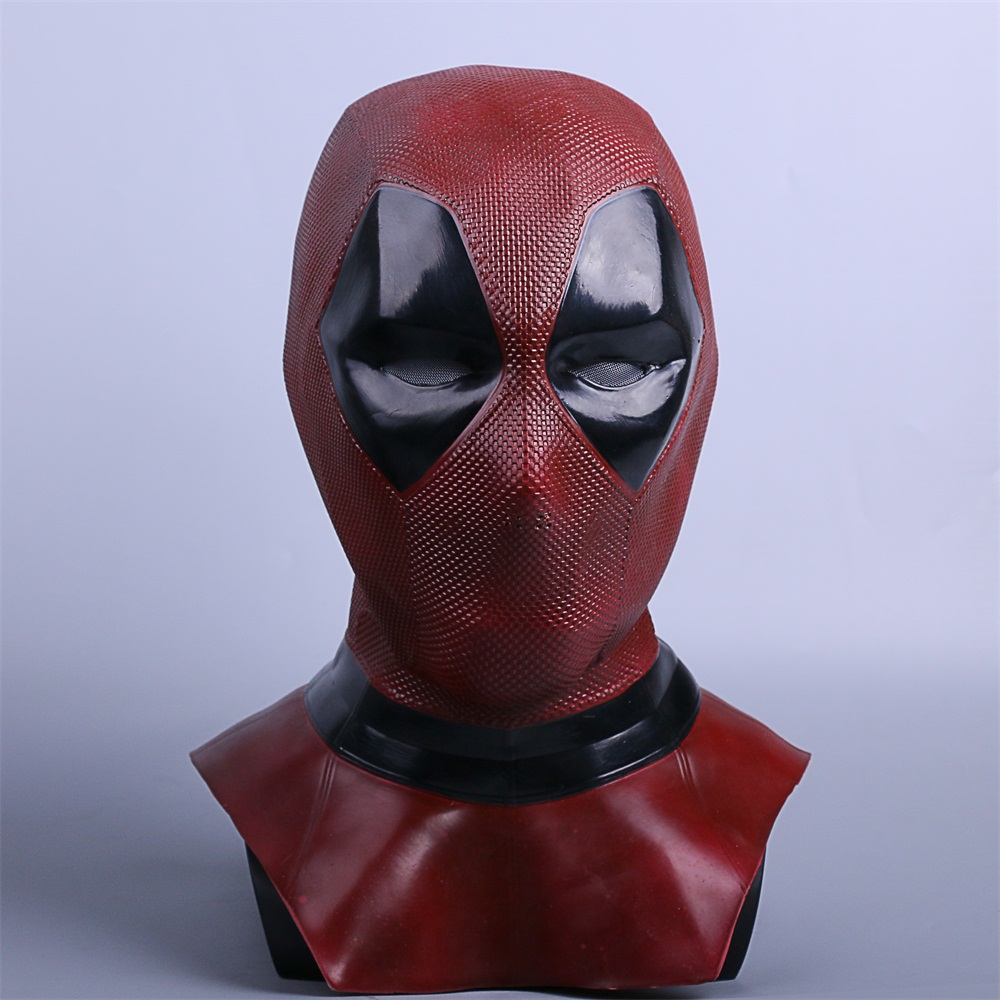 Deadpool 2 Masks Cosplay Costume Props Superhero Movie Full Face Halloween Mask