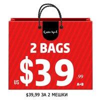 Cobbler Legend 39 99 For 2 Pieces Bags Can Be Chosen Genuine Leather Women Shoulder Bag