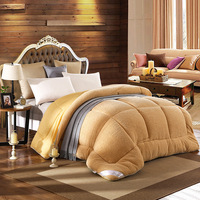 Durable Short Plush Warm Quilt Core Autumn Winter Keep Warm Quilts Hotel Home Using More Thicker