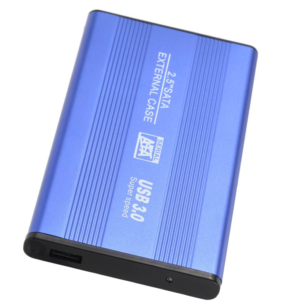 USB 3.0 HDD SSD SATA Externe En Aluminium 2.5 Disque dur Box Boitier jusqu'à 1 TB 2.5 SATA boîtier externe