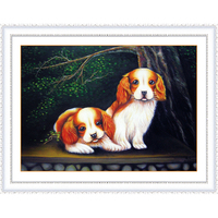 5D DIY Diamond Painting Cross Stitch Dog Animals Mosaic Pattern Hobbies And Crafts Home Decor Gifts
