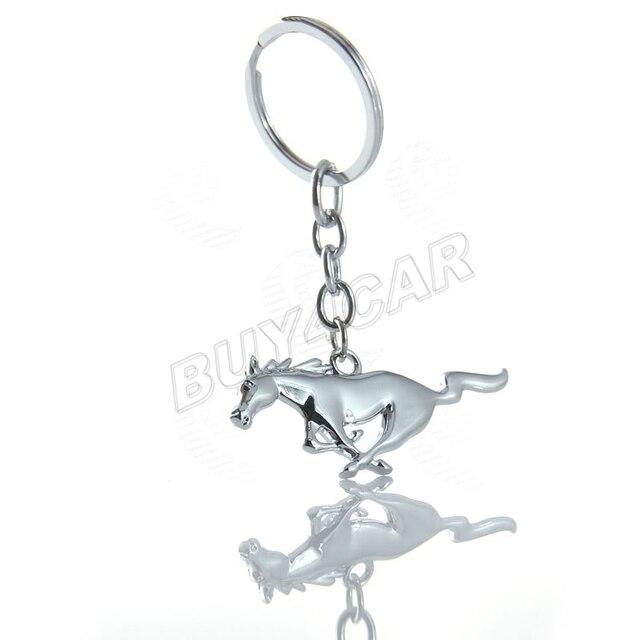 Авто Автомобиль Мотоцикл Велосипед Металла Под Лошадь Пони Ленты 3D Герба Знак брелок Брелок Брелок Сеть для Mustang #5203