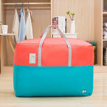 LDAJMW Waterproof Oxford Quilt Storage Bag Home Organizer Bedding Blanket Clothing Bags