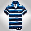 2016 высокое качество Летняя мода, стиль мужские polo shirt brands Tace & Shark polo рубашки с коротким рукавом shark мужчины твердые polo 904