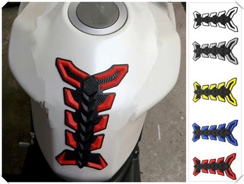 Motorcycle accessories decal fuel tank sticker 3D fish bone glue for BMW HP2 SPORT K1200R K1200R SPORT K1200S K1300 S/R/GT image
