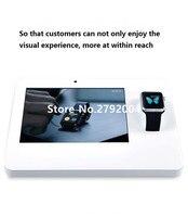10 шт./партия фабрика хорошего качества universal smart watch сигнализации стенд для мобильного телефона магазин опыт