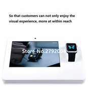 10 pcs/lot Factory good quality universal smart watch alarm display stand for mobile phone store experience