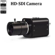 CCTV Industriële HD SDI 2.0MP 1080 P Lens 2.8 12mm HD SDI Beveiliging Box Mini SDI Camera