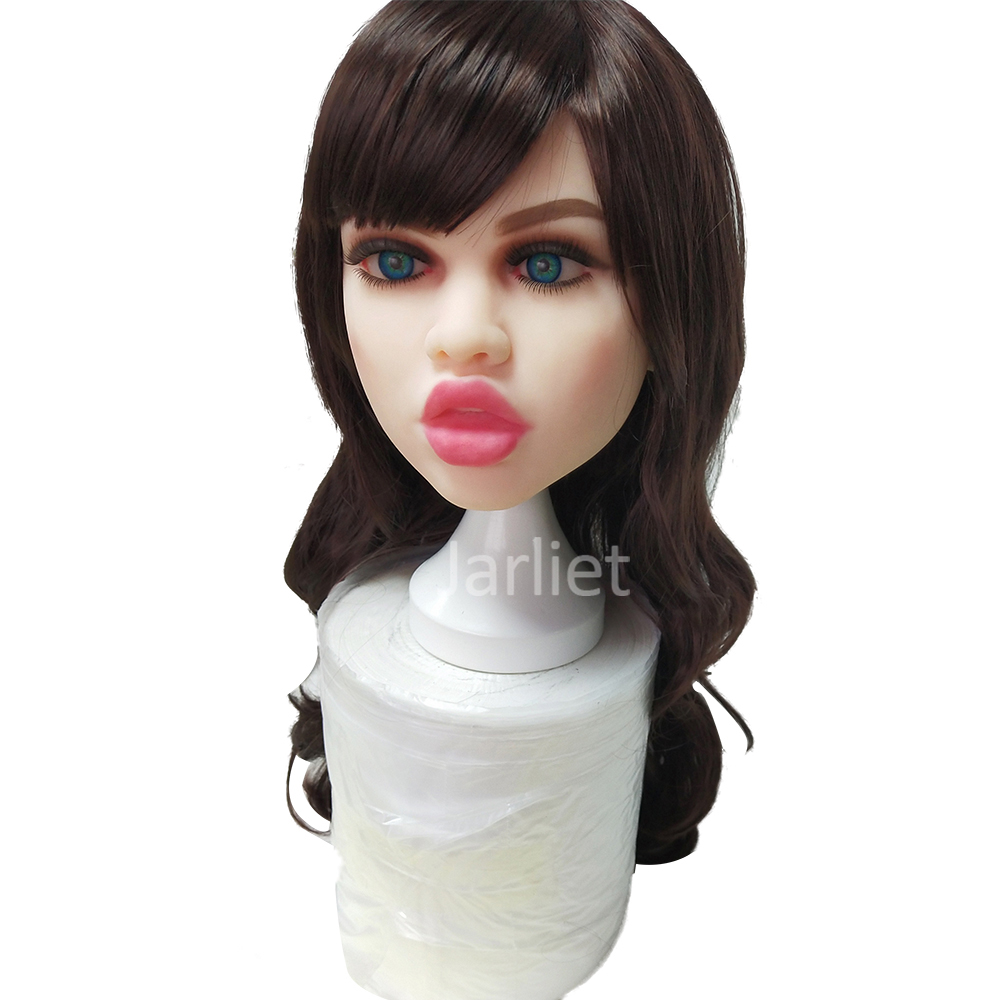 Oral <font><b>Sex</b></font> <font><b>Doll</b></font> <font><b>Head</b></font> 13cm 5.12 inch Length Hole Lifelike Real <font><b>Doll</b></font> <font><b>Head</b></font> for 140 to 172cm Body Love <font><b>Doll</b></font> image