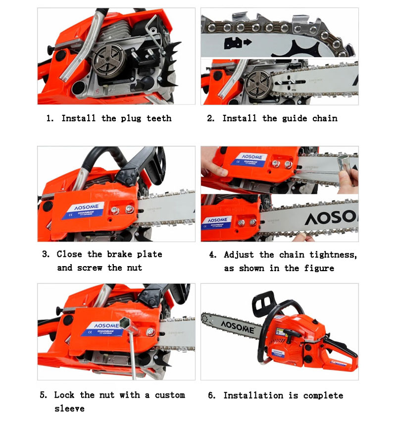 18 guide bar 45cc gasoline saws 2 stroke chain saw saw blade tools 18 guide bar 45cc gasoline saws 2 stroke chain saw saw blade tools kit in chainsaws from tools on aliexpress alibaba group keyboard keysfo Images