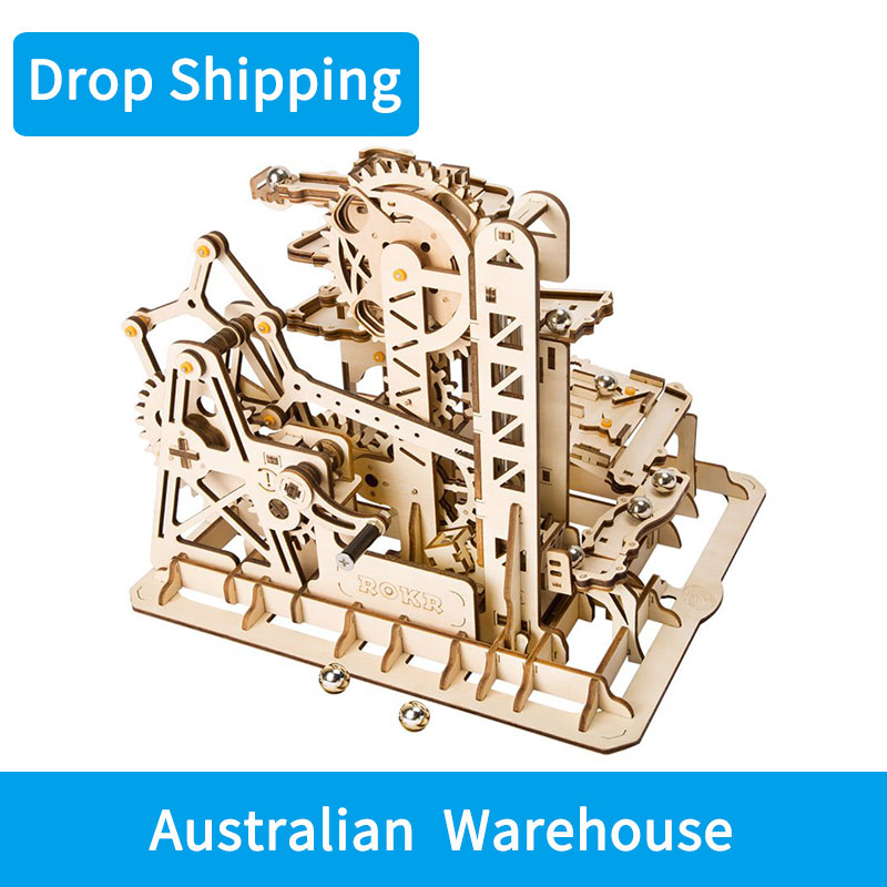 For Drop Shipping in Australia Marble Run Game 3D Wooden Puzzle Coaster Model Building Kit Toys for Children Adult LG504 For Drop Shipping in Australia Marble Run Game 3D Wooden Puzzle Coaster Model Building Kit Toys for Children Adult LG504