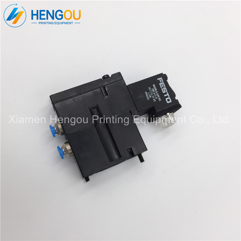 1 piece free shipping Heidelberg solenoid valve M2.184.1111/05 MEBH-4/2-QS-4-SA free shipping 100 page 4
