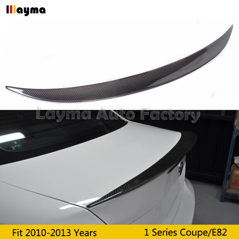 Performance style Carbon Fiber rear trunk spoiler For BMW 1 Series Coupe 120i 135i E82 2010