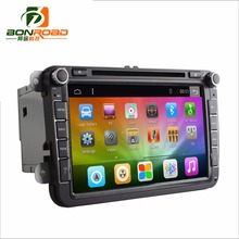 Android 6.0 Ram 1-2G Rom 16-32GB Quad Core 1024*600 2Din Car DVD GPS Navigation  Radio Player Red Green Color For VW For Octivia