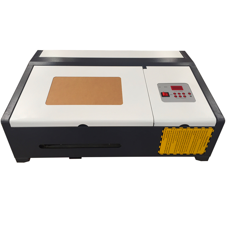 3020 40w co2 laser engrave machine ,laser engraver cutting machine diy laser cutter arcylic linear guide coreldraw software