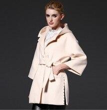 The fall of 2016 style elegant dress brand high quality women Fashion hooded wool woolen cloth coat women's short coat  jacket