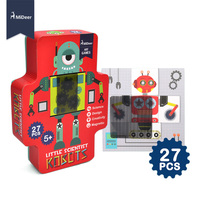 MiDeer 27PCS Amazing Science Grating Robots Magnetic Puzzle Educational STEM Toys For Children