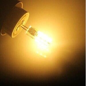 Image 4 - Lâmpada led g4 2w 12v/ac220v, 3014smd, 24led, luz branca quente/branca, 10 peças luz de led ângulo de 360 graus