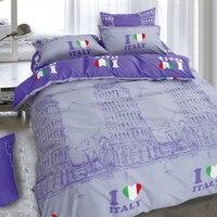 LILIYA City S Bedding Set High Quality Bedding Sets Comfortable Bedding Sets For Kid 4PC Sheet